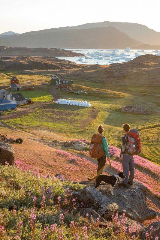 Tasiusaq Schaffarm und Sermilik Hostel, Grönland